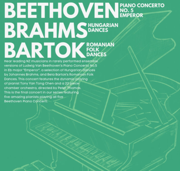 The PumpHouse Beethoven, Brahms & Bartok – Orchestra Auckland