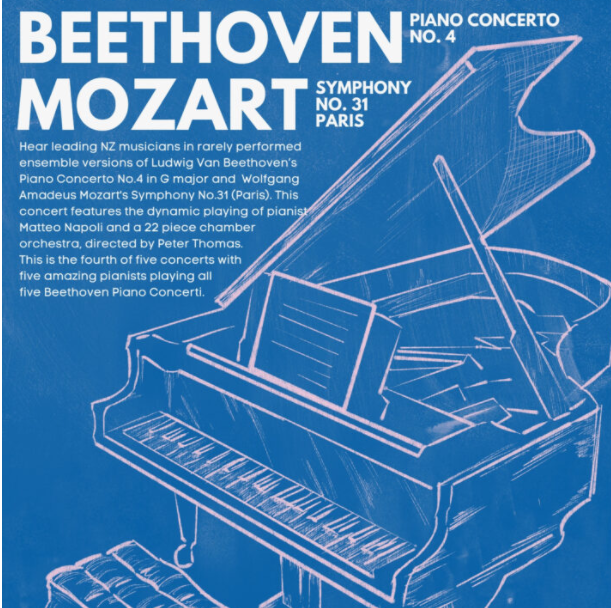 Beethoven & Mozart – Orchestra Auckland