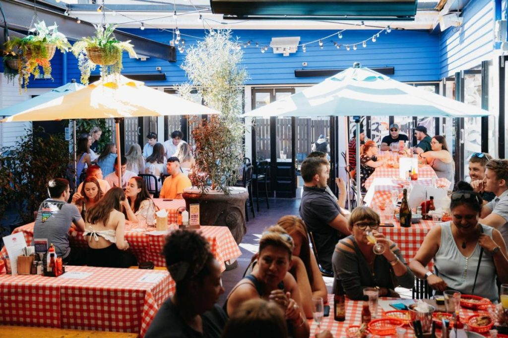 things to do in takapuna - dine at The Elephant Wrestler