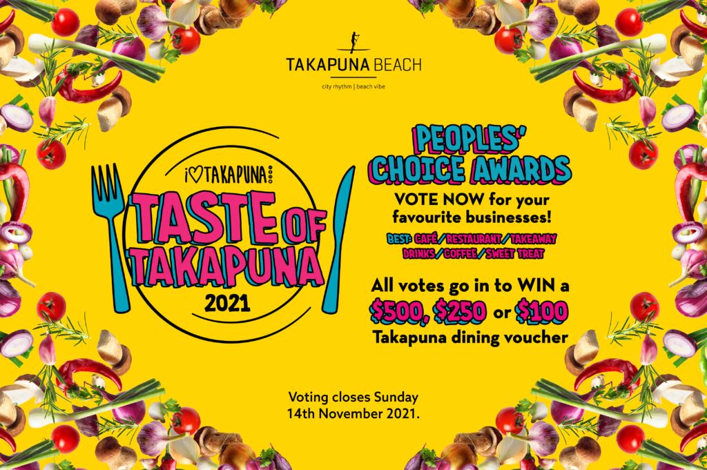 Taste of Takapuna 2021 Peoples Choice awards