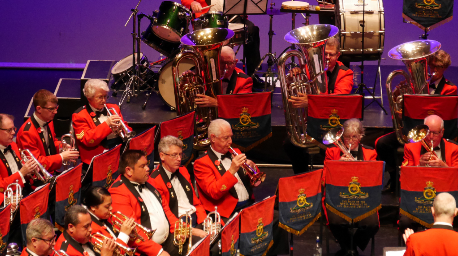 Bruce Mason Centre The Band of the Royal Regiment of NZ Artillery